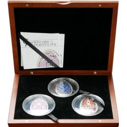 Faberge Eggs, Set of 3...