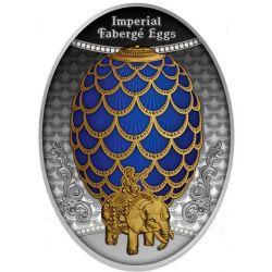1$ Jajo Szyszka Pinii - Faberge
