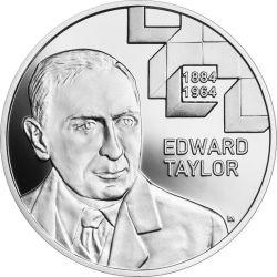 10 zł Edward Taylor - Wielcy Polscy Ekonomiści 14,14 g Ag 925