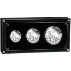 3,5$ Rok Tygrysa, Zestaw 3 monet