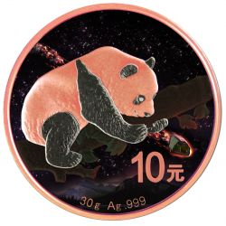 10 Yuan Fukang Meteorite China Panda - Atlas of Meteorites