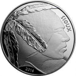1$ Sioux Indianin