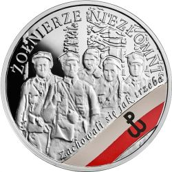 10 zł Wyklęci przez Komunistów Żołnierze Niezłomni