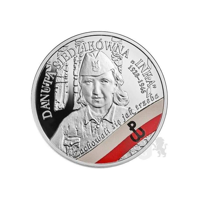 "10 zl Danuta Siedzikówna ""Inka"" - The Enduring Soldiers Accursed by the Communists"