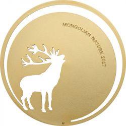 500 Togrog Jeleń Szlachetny - Mongolska Natura