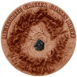 1$ Meteoryt Henbury - Gosses Bluff Crater