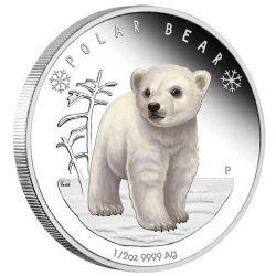 50¢ Niedźwiedź Polarny - Polarne Dzieci