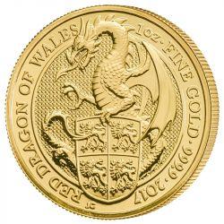 100£ Czerwony Smok Walii - Bestie Królowej