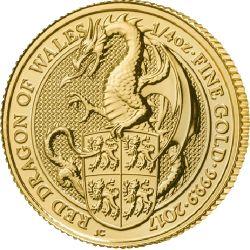 25£ Czerwony Smok Walii - Bestie Królowej