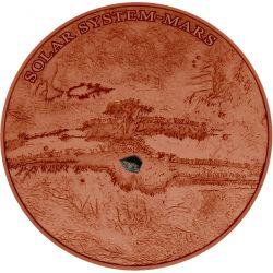 1$ Mars NWA 7397 - Solar System