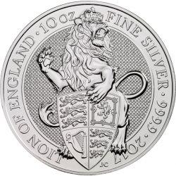 10£ Lew Bestie Królowej