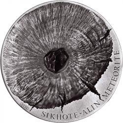 5000 Francs Sikhote-Alin Meteoryt - Meteorite Art