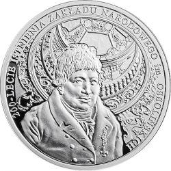 10 zł Zakład Narodowy im. Ossolińskich - 200-lecie istnienia