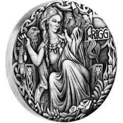 2$ Frigg - Norse Goddesses