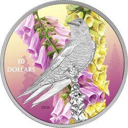 10$ Purple Martin - Birds among Nature's Colours