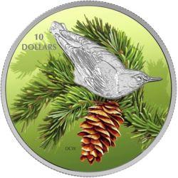 10$ Kowalik Karoliński - Ptaki wśród Barw Natury