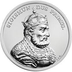50 zł Zygmunt I Stary - Skarby Stanisława Augusta