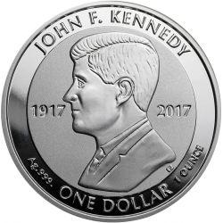 1$ John F. Kennedy