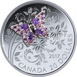20$ Motyl - Bejeweled Bugs