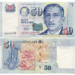 50$ Singapur Banknot