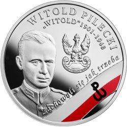 """10 zł Witold Pilecki """"Witold"""" - Wyklęci przez Komunistów Żołnierze Niezłomni"""