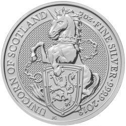 5£ Jednorożec Szkocji - Bestie Królowej