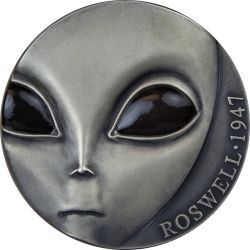 3000 Francs Roswell Incident 70th Anniversary UFO