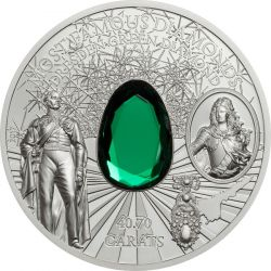 10$ Dresden Green Diamond - Słynne Diamenty