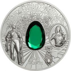 10$ Dresden Green Diamond - Słynne Diamenty