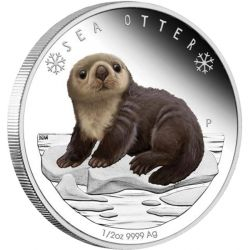50¢ Sea Otter - Polar Babies
