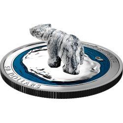 50$ Niedźwiedź Polarny - Steatyt