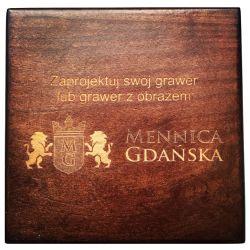 Ekskluzywny Grawer na Pudełku: Napis + ew. Szkic