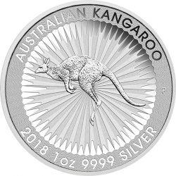1$ Australijski Kangur 2018