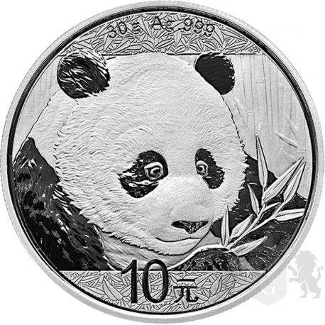 10 Yuan Chińska Panda 2018