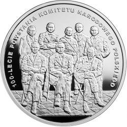 10 zł Komitet Narodowy Polski - 100-lecie powstania