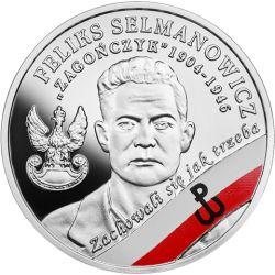 """10 zł Feliks Selmanowicz """"Zagończyk"""" - Wyklęci przez Komunistów Żołnierze Niezłomni"""