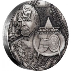 2$ Star Trek, Commander Lieutenat Worf