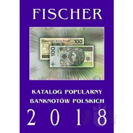 Katalog Banknotów Polskich Fischer 2018