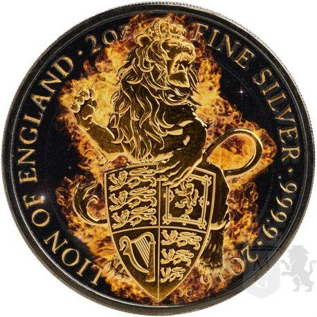 5£ Płonący Lew - Bestie Królowej