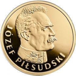 100 zl Jozef Pilsudski - 100th Anniversary of Regaining Independence by Poland