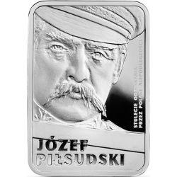 10 zł Józef Piłsudski - Stulecie odzyskania przez Polskę niepodległości