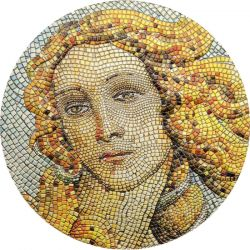 20$ Narodziny Wenus, Botticelli, Mozaika