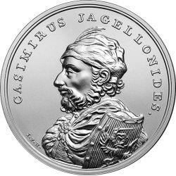 50 zł Kazimierz Jagiellończyk - Skarby Stanisława Augusta
