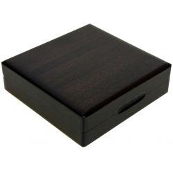 Drewniane pudełko z otworem 25 mm