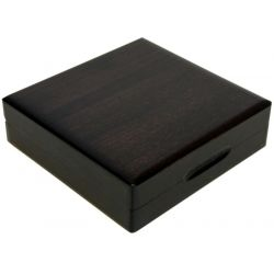 Drewniane pudełko z otworem 36 mm