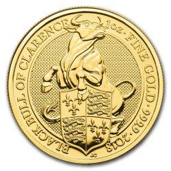 100£ Czarny Byk z Clarence - Bestie Królowej
