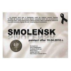 2 zł Smoleńsk - Pamięci ofiar 10.04.2010 r.