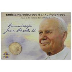 2 zł Kanonizacja Jana Pawła II Blister
