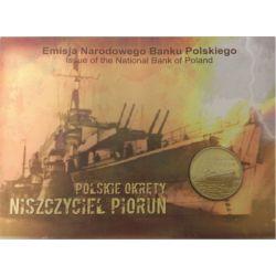 2 zł Niszczyciel Piorun - Polskie Okręty