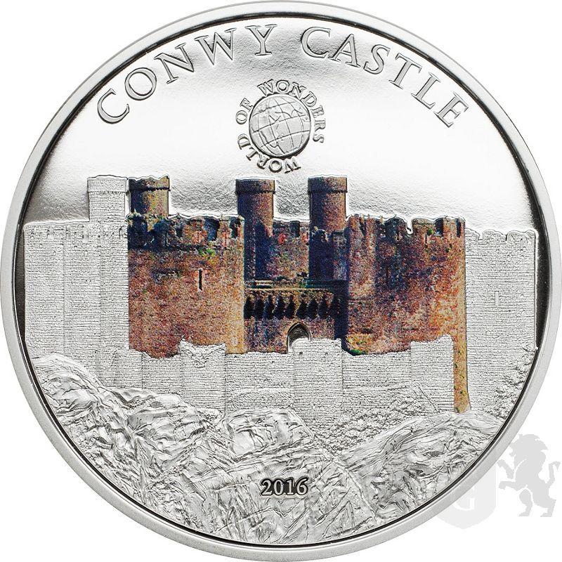 5$ Zamek Conwy - Świat Cudów